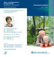 Haus Parkidyll - Havelland Kliniken Unternehmensgruppe