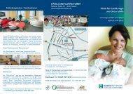Download Flyer Schwangerschaft und Geburt - Havelland Kliniken ...