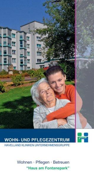 "Download Flyer ""Haus am Fontanepark"" - Havelland Kliniken ..."
