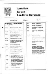 Amtsblatt für den Landkreis Havelland Jg. 1, Heft 2