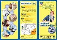 Treffpunkt Ausbildungsbörse Was - Landkreis Havelland