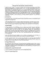 Satzung für das Jugendamt - Landkreis Havelland