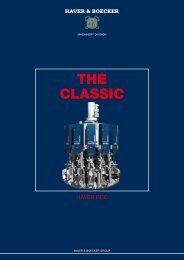 the CLassIC - Haver Filling Systems, Inc.