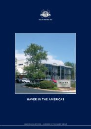HAVER_in_the_America.. - Haver Filling Systems, Inc.