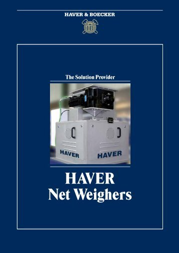 HAVER Net Weighers - Haver Filling Systems, Inc.
