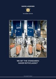 haver rotoclassic - Haver Filling Systems, Inc.