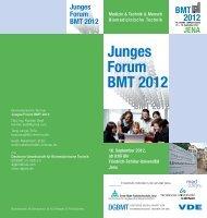 Junges Forum BMT 2012 Junges Forum BMT 2012