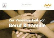 Zur Vereinbarkeit von Beruf und Familie - Hochschule Amberg-Weiden