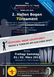 NEUE LOCATION!!! MESSE & TURNIER AM ... - Bogenwelt