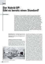 Der Hybrid-OP - Hochschule Amberg-Weiden