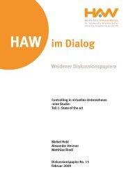 Teil 1:State of the art - Hochschule Amberg-Weiden