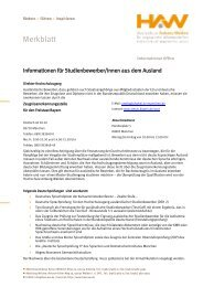 Merkblatt - Hochschule Amberg-Weiden