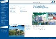 20110810 53 Fachtagung SKZ Flyer - Hochschule Amberg-Weiden