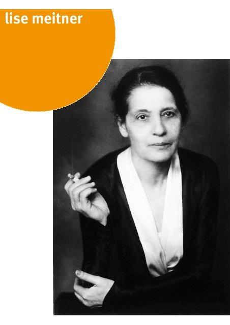 Aushang Mai - Lise Meitner