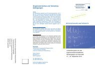 Organisatorisches und Teilnahme - Hochschule Ingolstadt