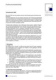 Jahresbericht 2001 - Hochschule Ingolstadt
