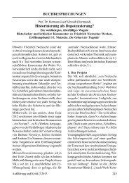 Aufklärung und Kritik - Heidelberger Akademie der Wissenschaften