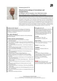 Mitarbeiterbeurteilung in Unternehmen und Organisationen ...