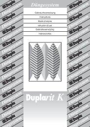 Duplarit K - Hawaiian Marine Imports