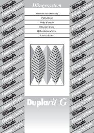 Duplarit G neu - Hawaiian Marine Imports