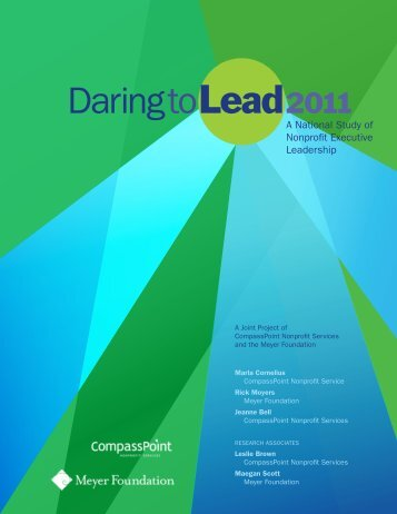 Daring to Lead 2011 - CompassPoint Nonprofit Services