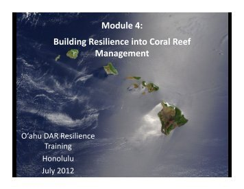 PDF Version - Hawaii Coral Reef Strategies