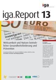 IGA-Report 13 - haward