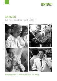 BARMER Gesundheitsreport 2008 - haward