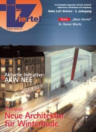 Winterhuder Quellenhöfe - Redaktionsbüro Mark Bloemeke