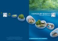 residents brochure - Hawkesbury City Council - NSW Government