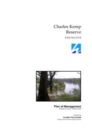 Charles Kemp Reserve - Hawkesbury City Council - NSW Government