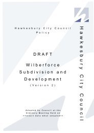 Attachment to Item 264 - Hawkesbury City Council, NSW