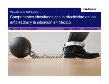 Componentes vinculados con la efectividad de los ... - Hay Group