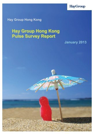 Job Evaluation - Hay Group