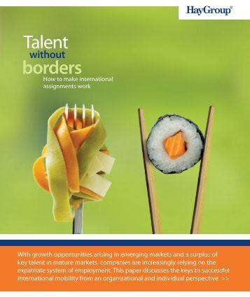 Talent without borders - Hay Group