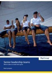 Top Teams brochure.indd - Hay Group