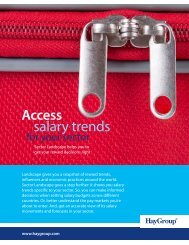 Download Hay Group's Sector Landscape brochure