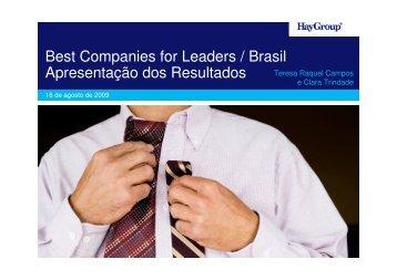 Microsoft PowerPoint - Apresenta\347\343o_BCFL_uso ... - Hay Group