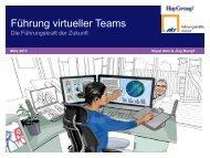 Grafik virtuelle Teams - Hay Group