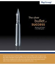 The silver bullet of success - Hay Group