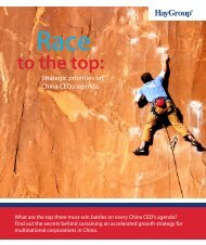 to the top: - Hay Group