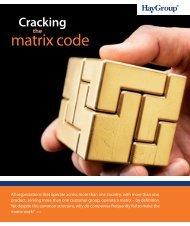matrix code - Hay Group