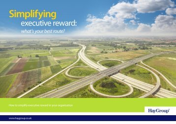 How to simplify executive reward in your organisation - Hay Group