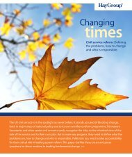 Changing times - Hay Group