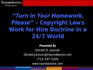 Download the PDF. - Haynes and Boone, LLP