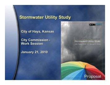 Storm Water Study - City of Hays, KS