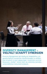 diversity management ? vielfalt schafft synergien - HaysWorld