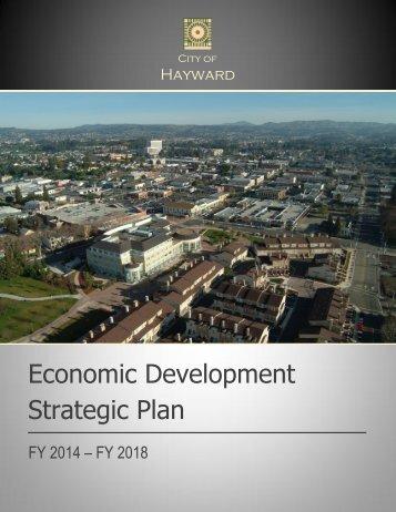Economic Development Strategic Plan - City of HAYWARD