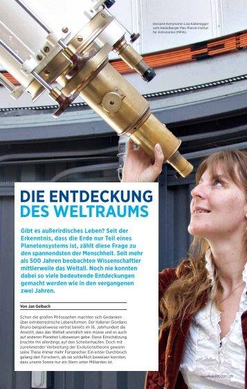 DIE ENTDECKUNG DES WELTRAUMS - HaysWorld