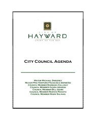 City Council Agenda - City of HAYWARD